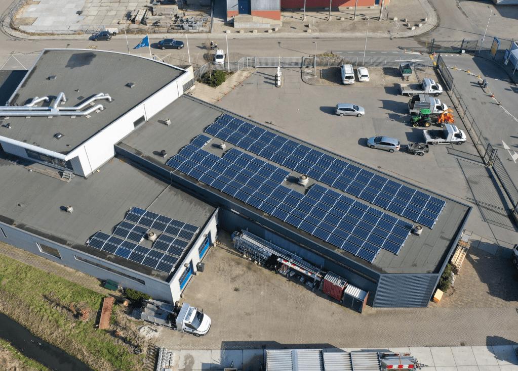 Zonnepanelen Milieustraat Voorhout